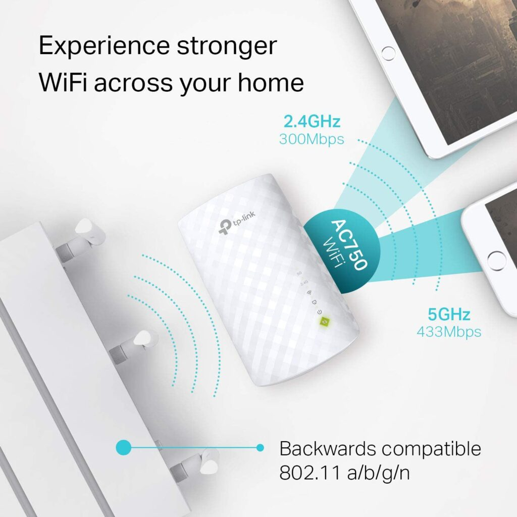 TP-Link AC750 the best wi-fi extenders